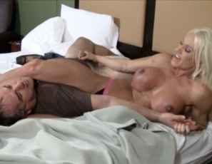 In the final part of this three-part series, naked female bodybuilder Ashlee Chambers finishes off her helpless fan. Featuring all kinds of wrestling and scissoring - the lucky guy gets mere inches from Ashlee's beautiful big clit. Is it worth an ass-kicking? You bet it is!
